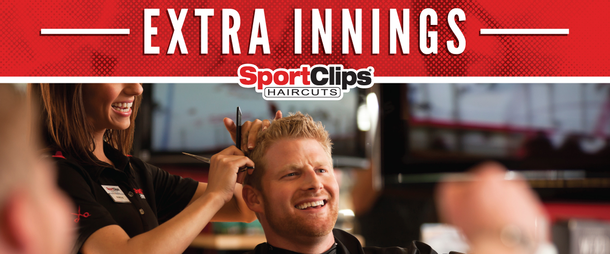 The Sport Clips Haircuts of El Segundo Extra Innings Offerings